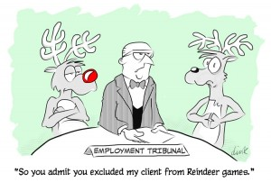 Reindeer Employment Tribunal cartoon