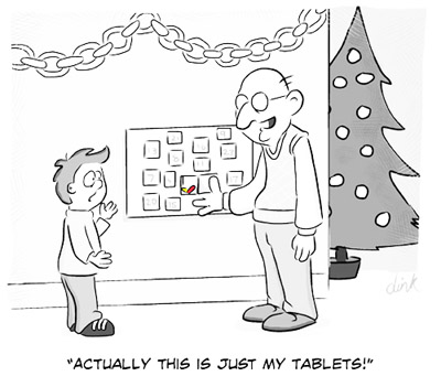 Tablet Advent Calendar - first draft