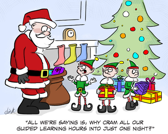 Christmas Images Cartoon.A Business Cartoon Isn T Just For Christmas Dink Cartoons