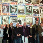 Private Eye Exhibition Cartoonists' Club outing