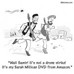 Amazon drone cartoon.