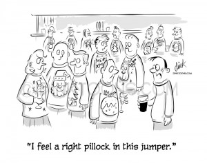 Christmas Xmas Jumpers Cartoon