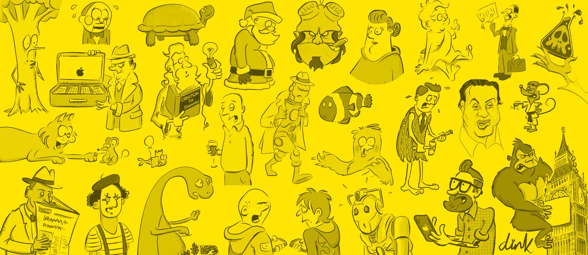 Dink Cartoons