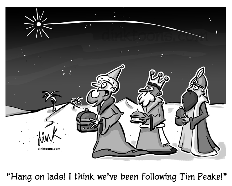 """Hang on Lads I think we've been following Tim Peake"""