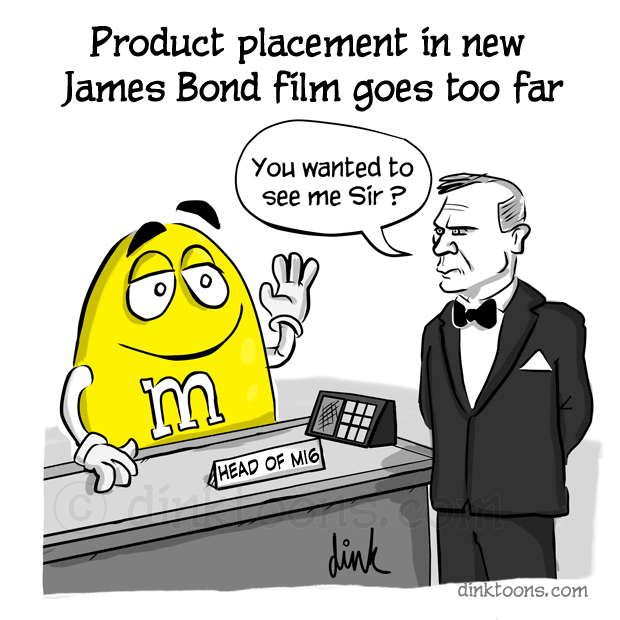 James Bond 007 product placement