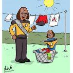 Star Trek cartoon - Good day to dry