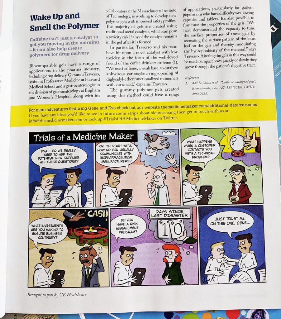Medicine Maker comic strip