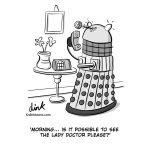 Female Doctor Who cartoon