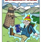 EXTERMINTCAKE dalek cartoon