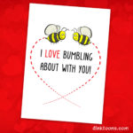 Valentines Day card available on Thortful