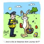 Lockdown Easter Card