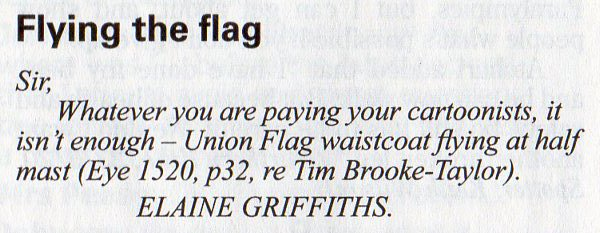 Private Eye letter