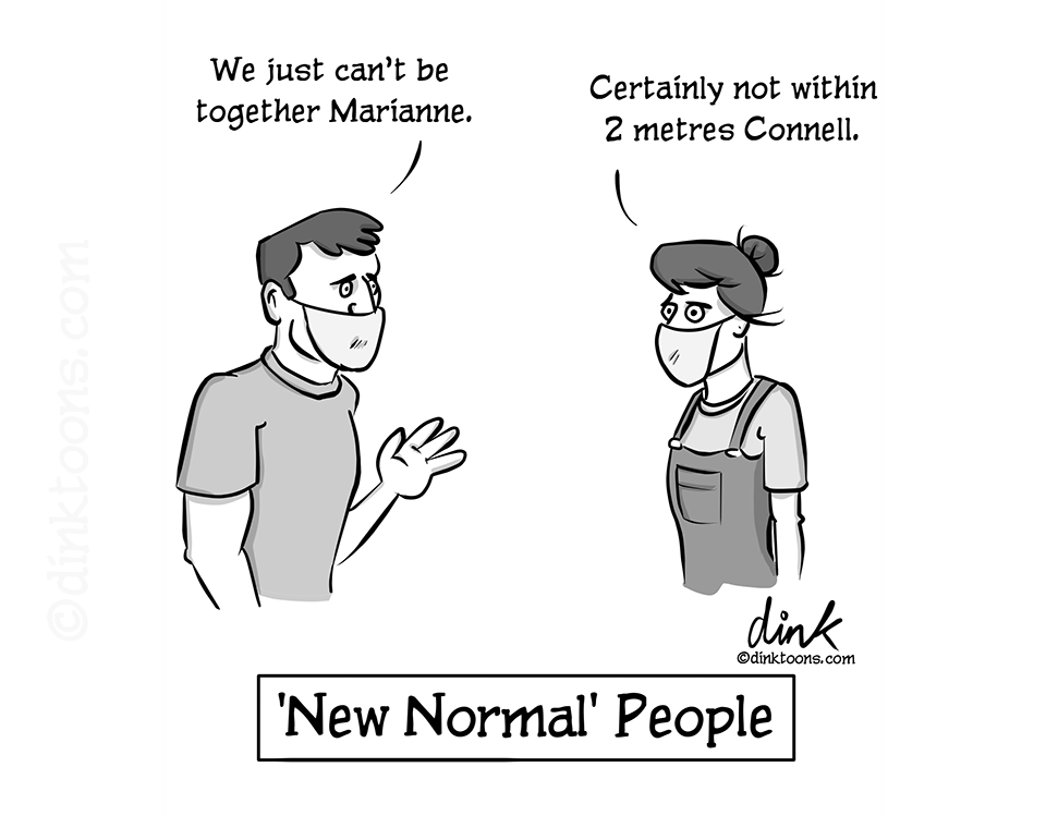 New Normal People Cartoon
